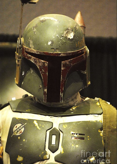 Boba Fett Greeting Card featuring the photograph The Real Boba Fett by Micah May