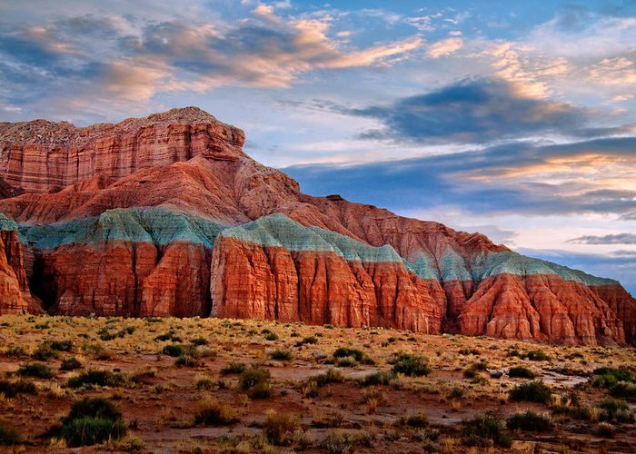 Desert Greeting Card featuring the photograph Wild Horse Mesa by Utah Images