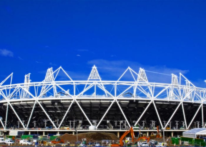 2012 Olympics Greeting Card featuring the photograph 2012 Olympics London by David French