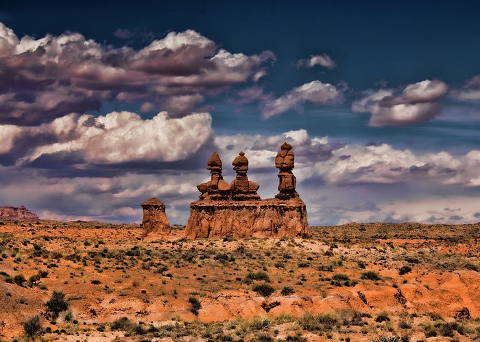 San Rafael Swell Greeting Card featuring the photograph Goblin Valley by Mark Smith