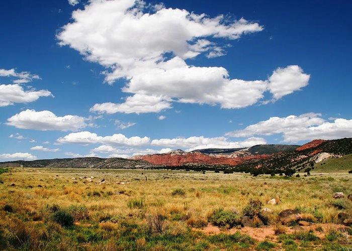 Red Rock Greeting Card featuring the photograph Capitol Reef National Park by Mark Smith