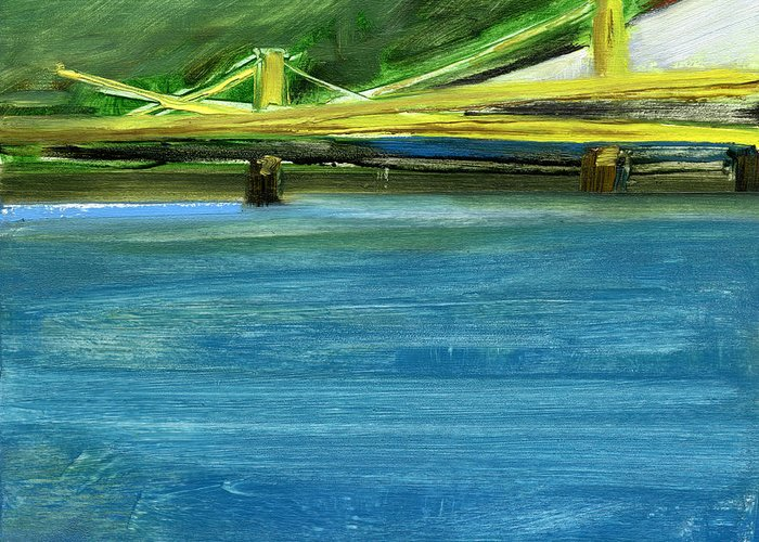 Pittsburgh Greeting Card featuring the painting Rcnpaintings.com by Chris N Rohrbach