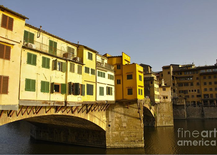 Florence Greeting Card featuring the photograph Florence 26 by LS Photography