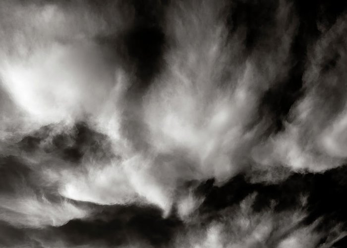 Atmospheric Greeting Card featuring the photograph 298 - Atmospheric - Cloud Cluster by Eric Copeman