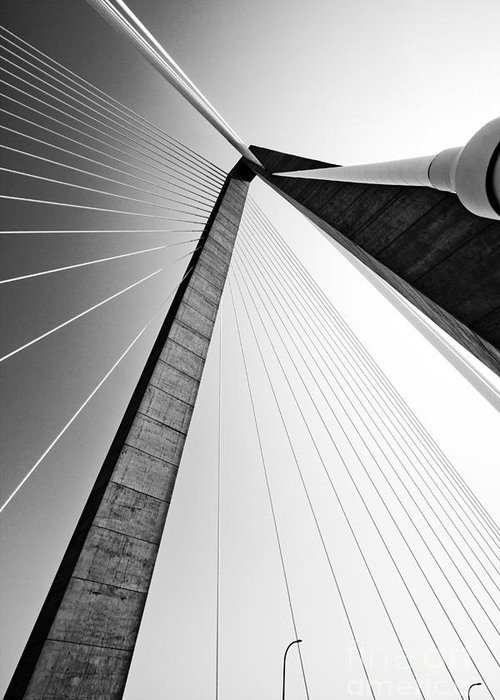 Cable-stayed Bridge Greeting Cards