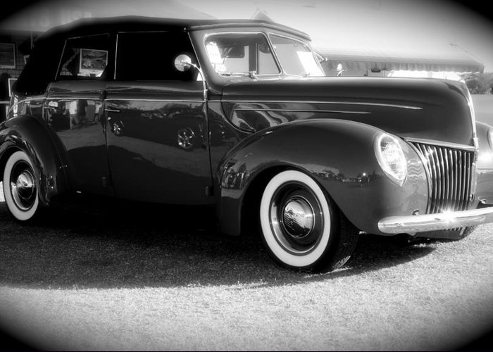 Classic Cars Greeting Card featuring the photograph Classic by Timothy Mangino