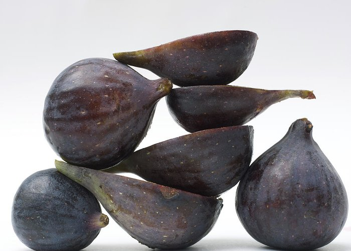 Vitamins Greeting Card featuring the photograph Figs by Bernard Jaubert