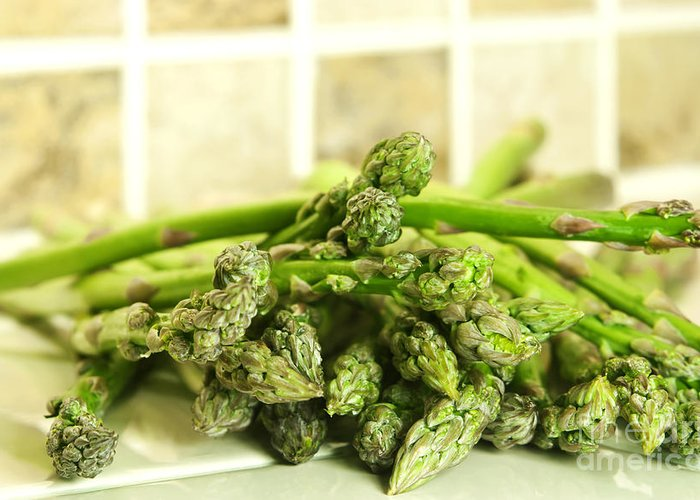 Asparagus Greeting Cards