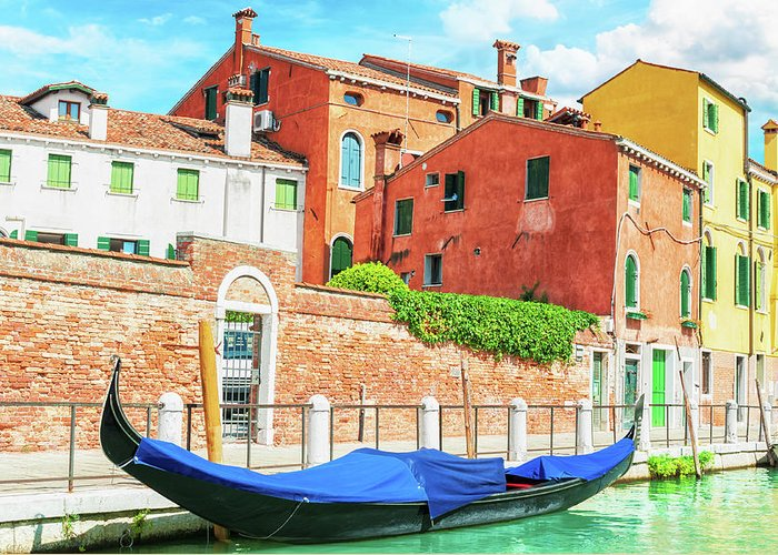 Venice Greeting Card featuring the photograph Venice Italy by Peter Horvath