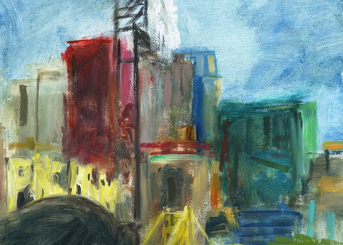 Pnc Park Paintings Greeting Cards