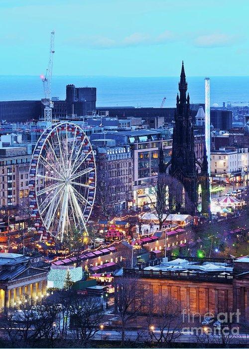Europe Greeting Card featuring the photograph Edinburgh, Scotland by Karol Kozlowski