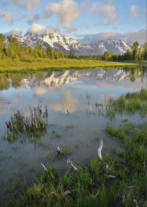 Grand Teton National Park Greeting Card featuring the photograph Grand Teton National Park by Ray Mathis