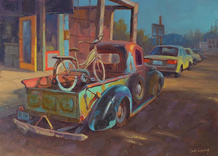 Rusty Truck Greeting Cards