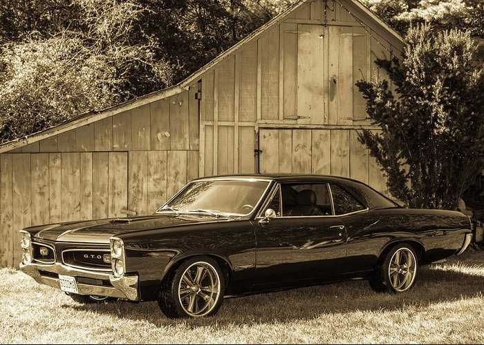 Gto Greeting Card featuring the photograph Classic Cars by Mickie Bettez