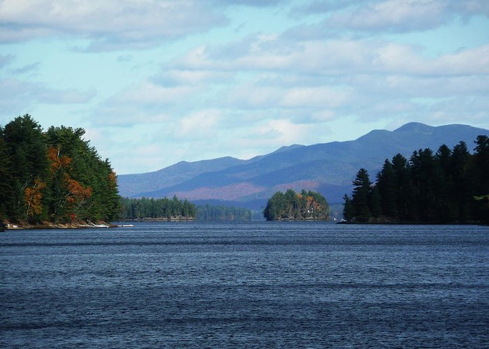 Tranquility Greeting Card featuring the photograph Lake by Kate Leikin
