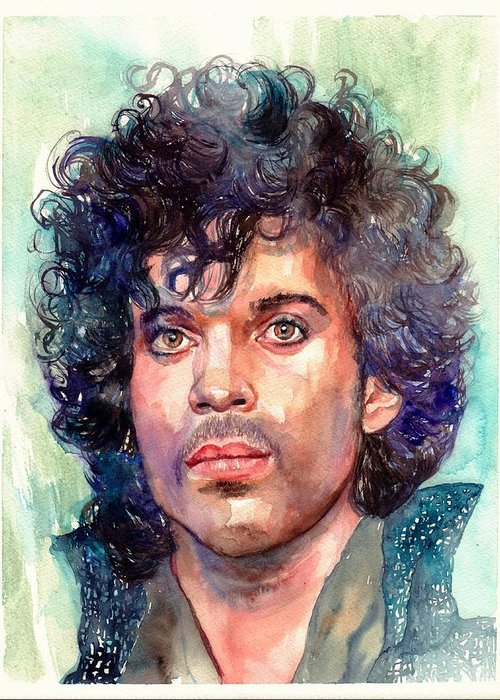 Prince Rogers Nelson Greeting Cards