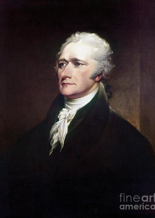 1806 Greeting Card featuring the photograph Alexander Hamilton by Granger