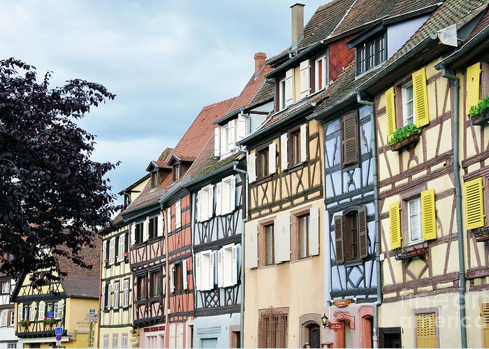 Colmar Greeting Card featuring the photograph Colmar by LS Photography
