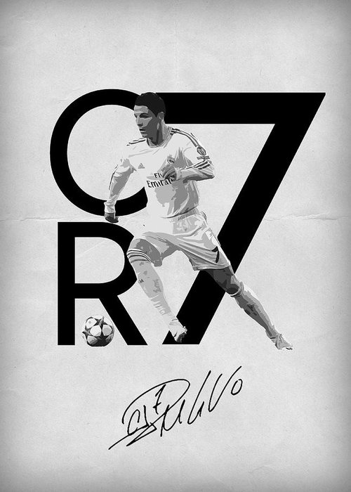 Cristiano Ronaldo Greeting Cards