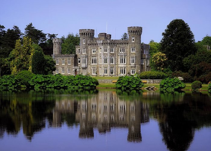 Archaeology Greeting Card featuring the photograph Johnstown Castle, Co Wexford, Ireland by The Irish Image Collection