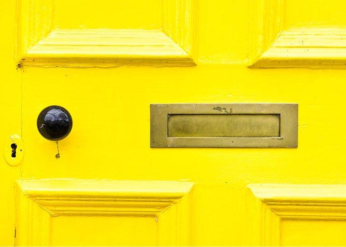 Yellow Door Greeting Cards