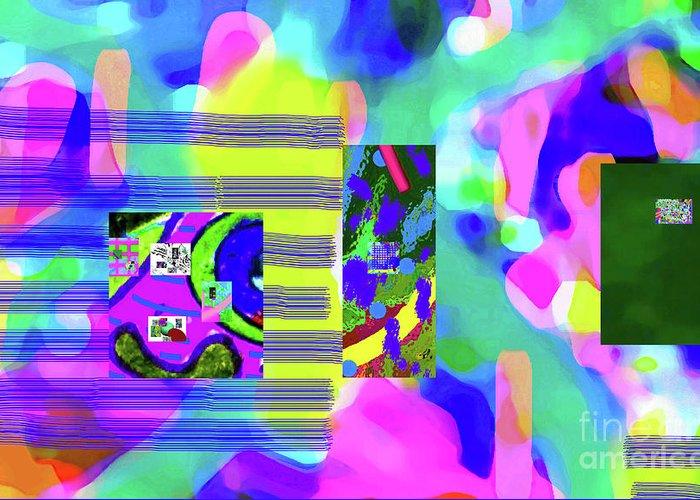 Walter Paul Bebirian Greeting Card featuring the digital art 6-12-2015cabcdefghijkl by Walter Paul Bebirian