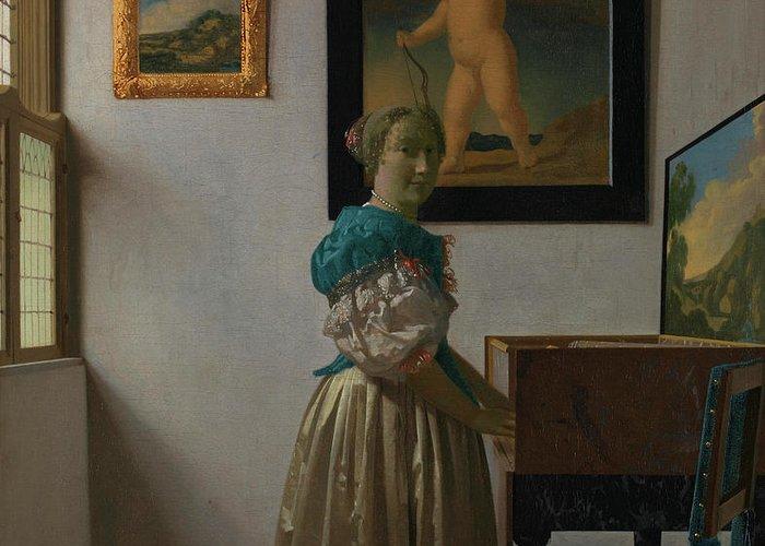 Johannes Vermeer Greeting Cards