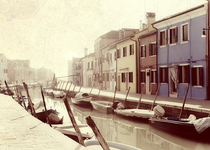Burano Greeting Card featuring the photograph Burano by Joana Kruse