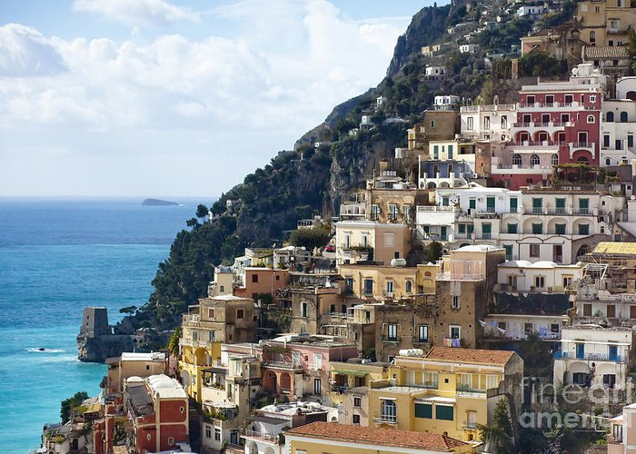 Amalfi Greeting Card featuring the photograph Amalfi Coast by Andre Goncalves