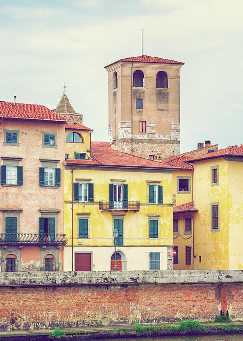 Pisa Greeting Card featuring the photograph Pisa Italy by Peter Horvath