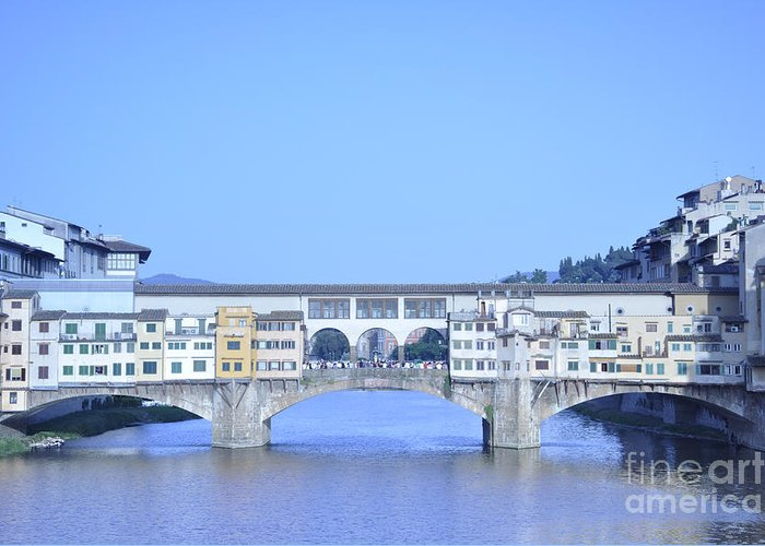 Florence Greeting Card featuring the photograph Florence 8 by LS Photography