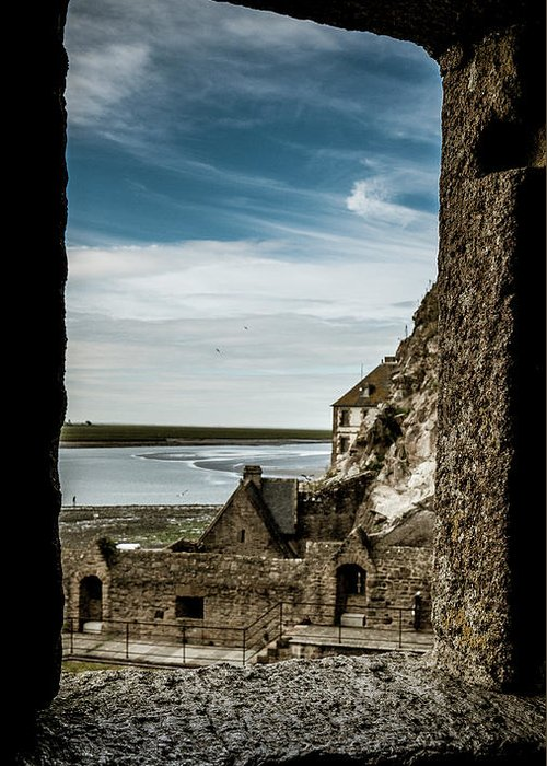 Water Greeting Card featuring the photograph Le Mont Saint Michel by Jason Steele