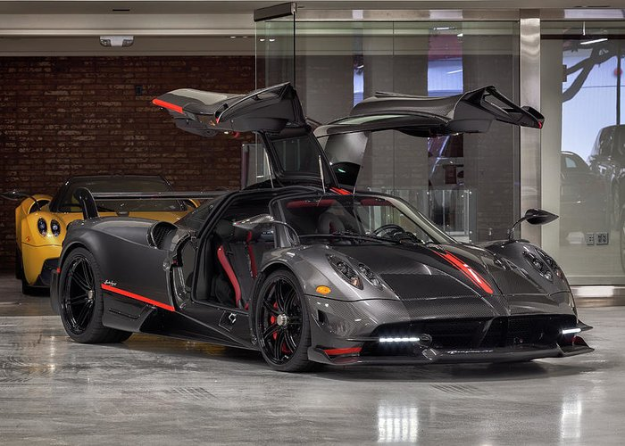 Pagani Huayra Bc Greeting Card For Sale By Itzkirb Photography