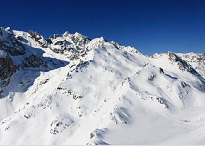 Serre Chevalier Greeting Card featuring the photograph Serre Chevalier In The French Alps by Pierre Leclerc Photography