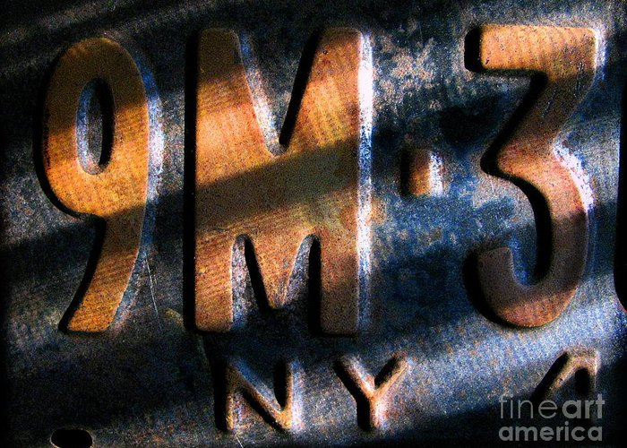 Cars Greeting Card featuring the photograph 9 M by Colleen Kammerer