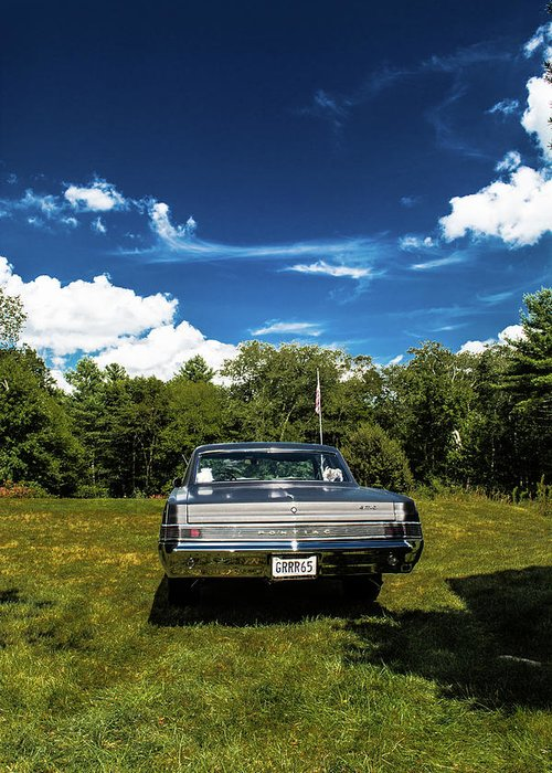 Classic Greeting Card featuring the photograph Classic Cars by Mickie Bettez