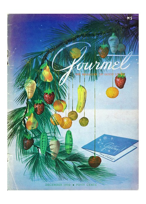 Food Greeting Card featuring the photograph A Gourmet Cover Of Marzipan Fruit by Henry Stahlhut