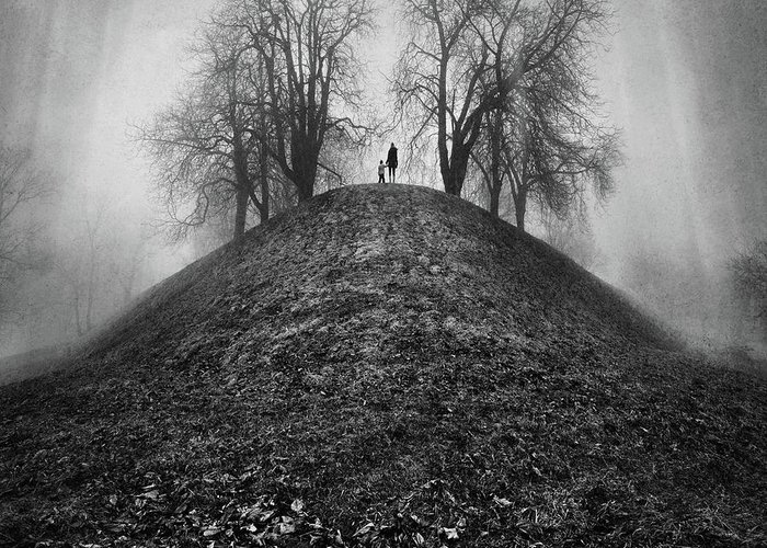 Dream Greeting Card featuring the photograph A Hope For The Eternal Presence Of Distant Places by Ioannis Lelakis