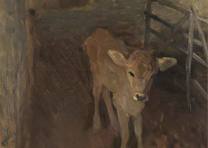 Cattle-shed Greeting Cards