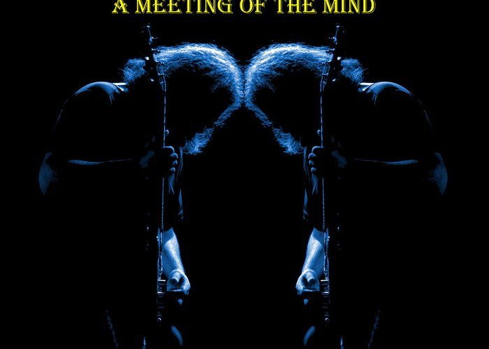 Jerry Garcia Greeting Card featuring the photograph A Meeting Of The Blue Mind by Ben Upham