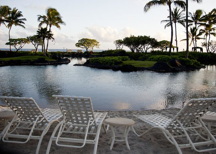 Hawaii Greeting Card featuring the digital art A Morning In Kauai Hawaii by Susan Stone