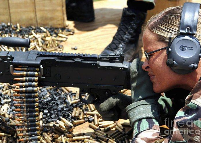 General Purpose Machine Guns Greeting Cards