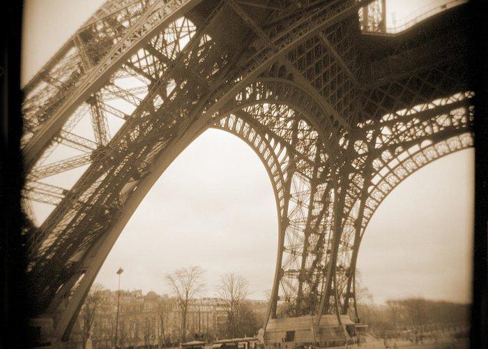 Eiffel Tower Greeting Card featuring the photograph A Walk Through Paris 13 by Mike McGlothlen