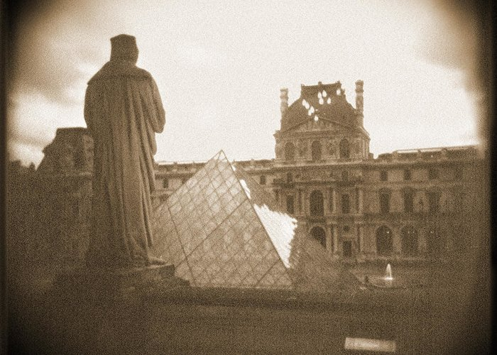 Paris Greeting Card featuring the photograph A Walk Through Paris 16 by Mike McGlothlen