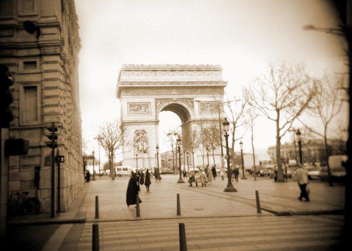 Paris Greeting Card featuring the photograph A Walk Through Paris 3 by Mike McGlothlen