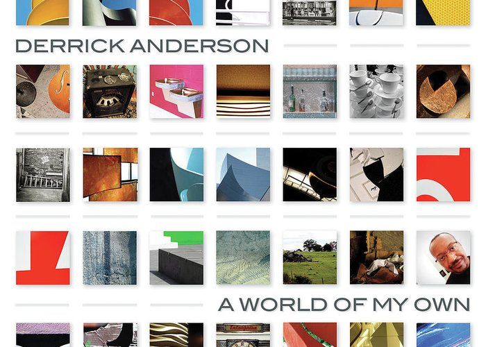Greeting Card featuring the photograph A World Of My Own by Derrick Anderson