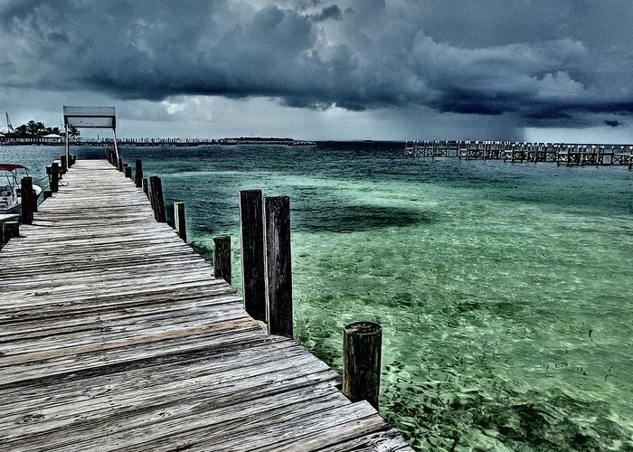 Caribbean Greeting Card featuring the photograph Abaco Islands, Bahamas by Cindy Ross