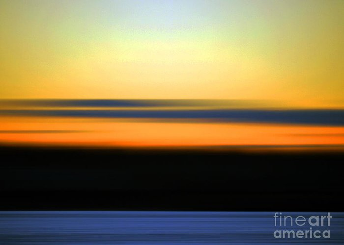 Photography Greeting Card featuring the photograph Abstract Sunset#5 by Crystal Hover