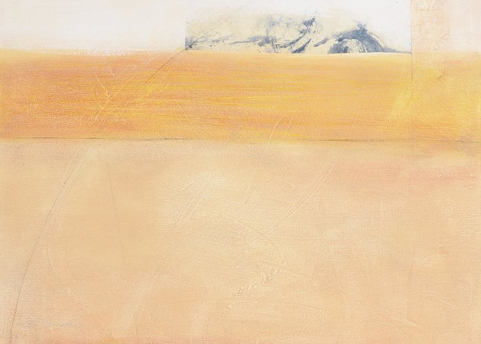 Abstract Painting Greeting Card featuring the painting After Autumn Horizon 18 by Sally Tuttle