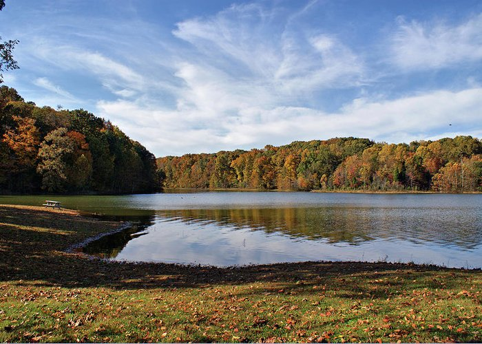 Lake Greeting Card featuring the photograph Afternoon At The Lake by Sandy Keeton